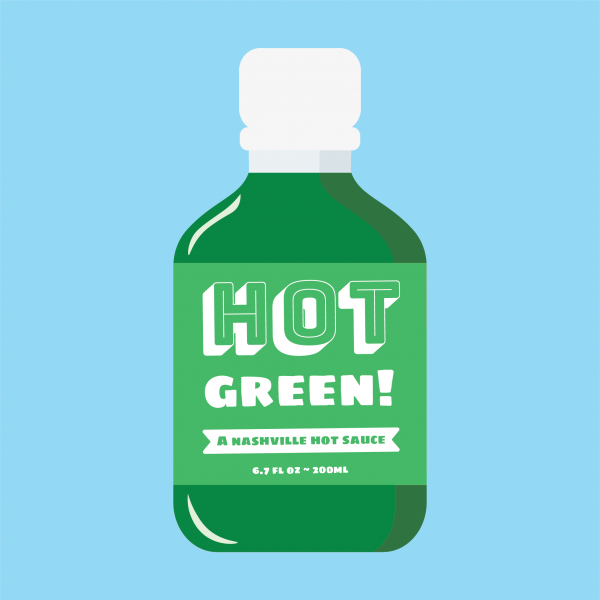 Hot Green Hot Sauce Icon