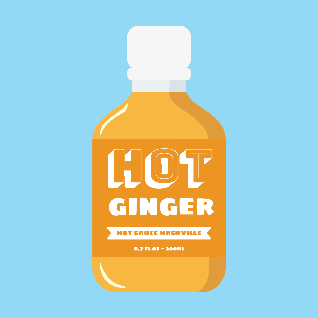 Hot Ginger Hot Sauce Icon